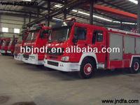 New water foam fire truck