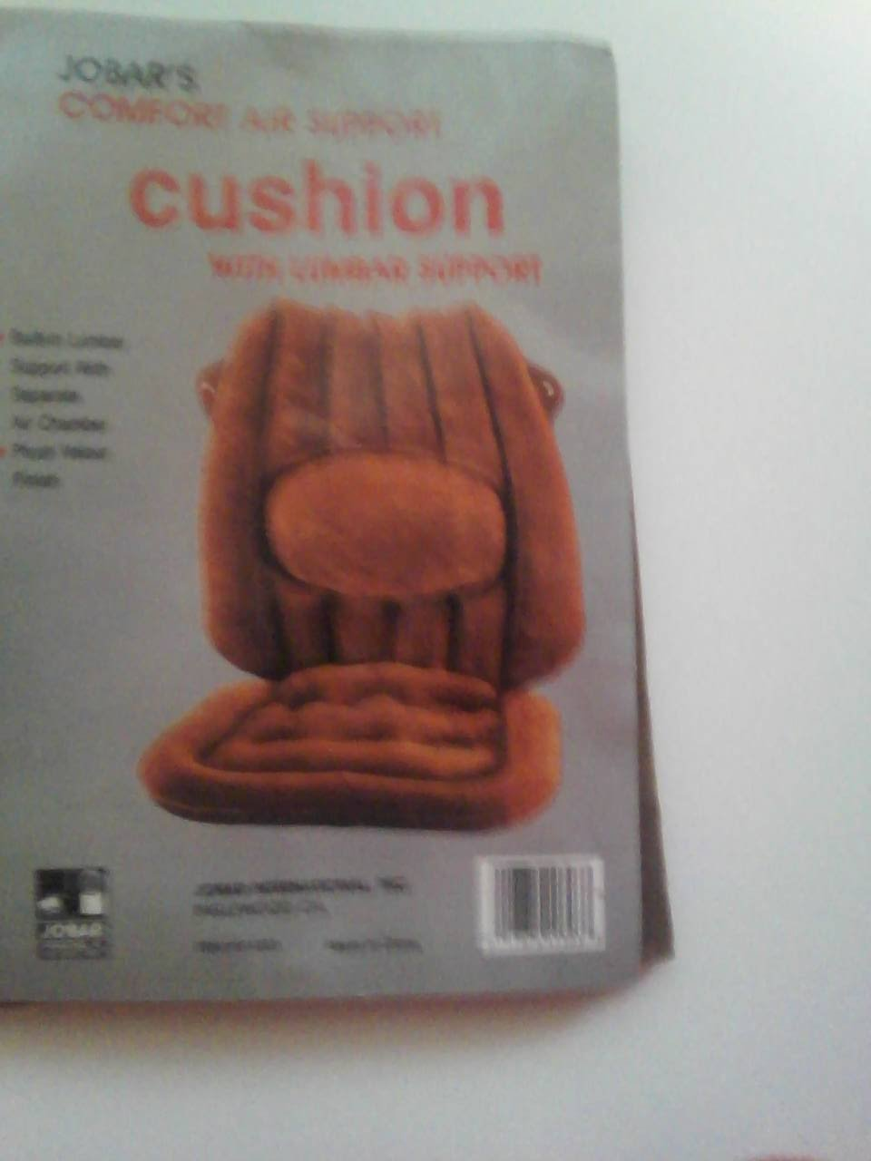 Comfort Air Support Cushion with Lumbar Support