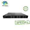 digital tv analog converter mpeg-2 to ip/asi encoder 24 channels option QR code/LOGO/OSD