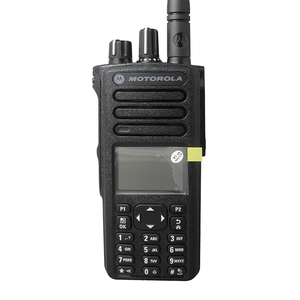 Motorola XPR7550 is the best handheld radio has many Mototrbo functions with keypad and screen professional portable radio