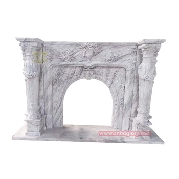 Best selling indoor decor cnbdglory products Natural stone fireplace