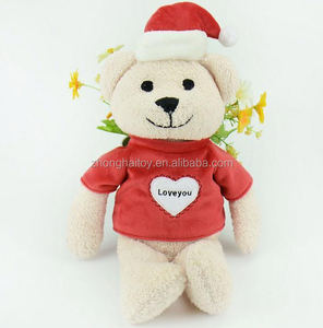 valentine plush Bear/Plush Stuffed Valentine Teddy Bear/Plush lover teddy bear