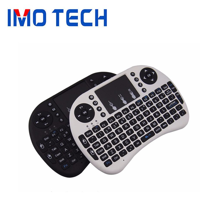 Shenzhen IMO 2017 New Design Cheap price i8 Mini 2.4GHz USB Wireless mouse Keyboard