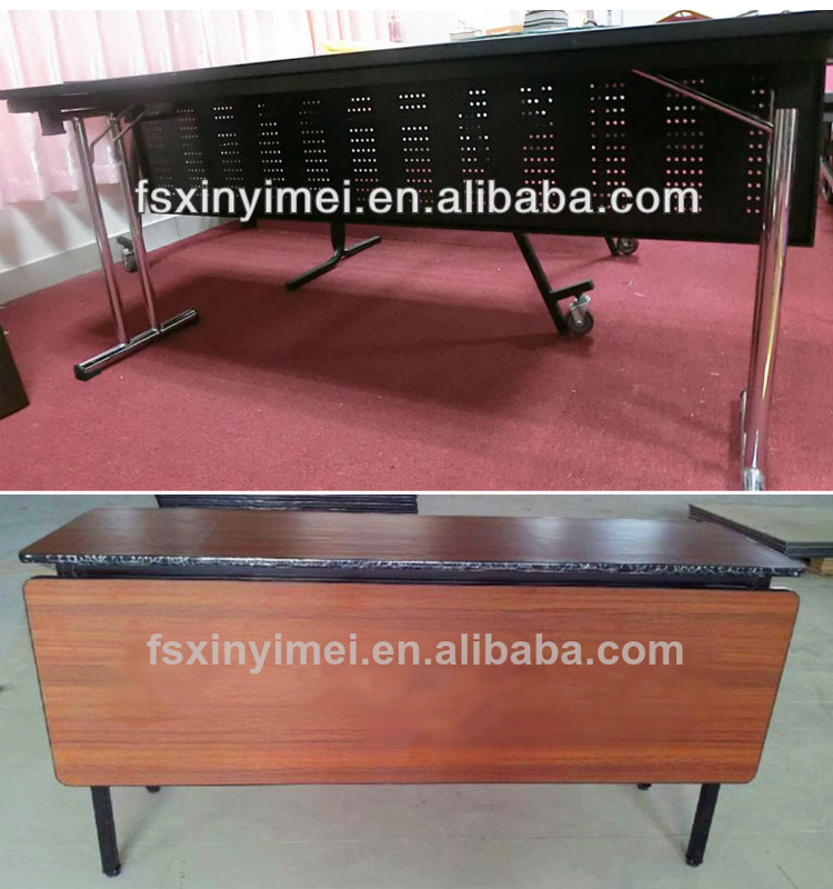 Hotel metal folding training table for office/classroom
