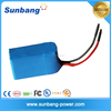 deep cycle rechargeable lifepo4 12v 20ah battery pack for solar system/ LED light / e bike