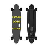 Ifasun dropship fast 45km/h boosted e skate long board dual belt motor drive cheap longboard FOC electric skateboard