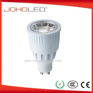 perfect heat gu10 led lamp 5w/6w/8w dimmable cob led ce rohs led spotlight