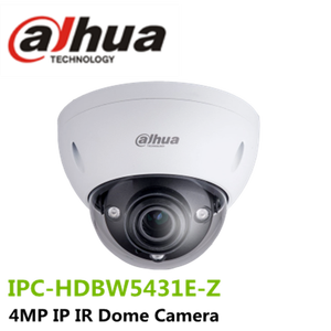 Dahua Stock 4MP IP WDR IR Dome Network Camera Support Micro SD Card with 2.7mm ~12mm Motorized Lens: IPC-HDBW5431E-Z