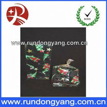 Christmas clear plastic candy bag for Christmas day