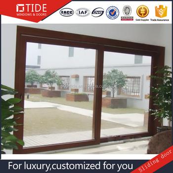 Solid Wood Frame Aluminum Clad Wood Windows And Doors - Buy ...