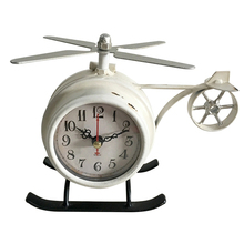 Helicopter Airplane Shaped Alarm Clock USA Stocked And Shipped Battery Operated