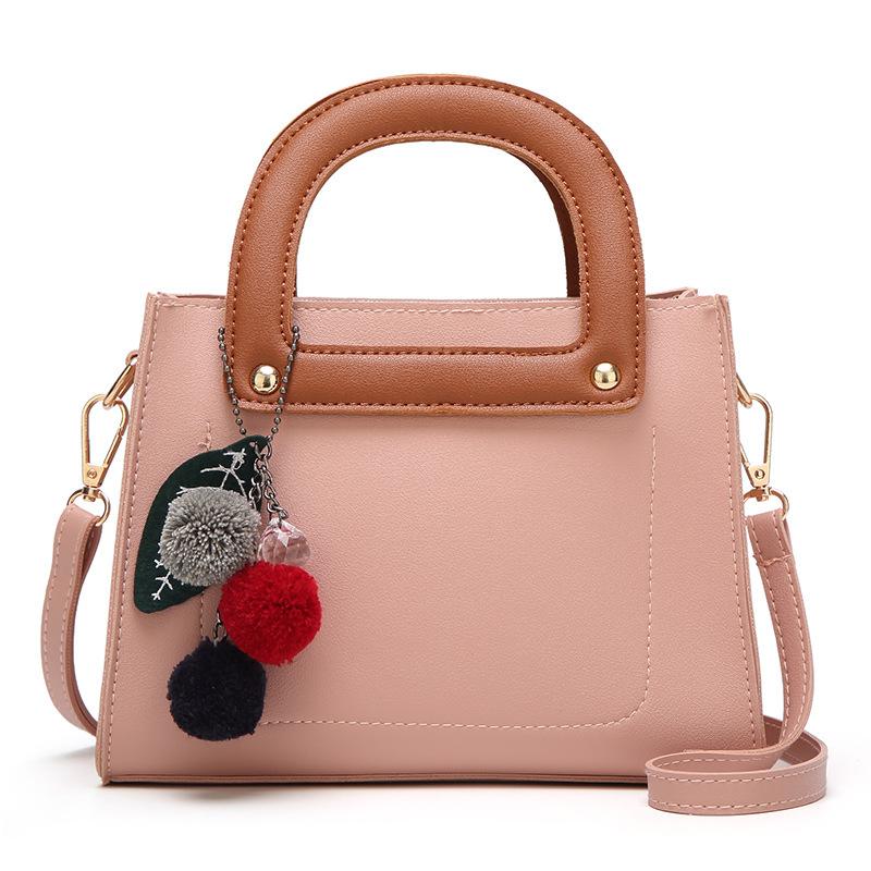 e5d3e97b82e 2018 Womens Faux Leather Top Handle Satchel Handbags Designer Tote Purse  Shoulder Bag