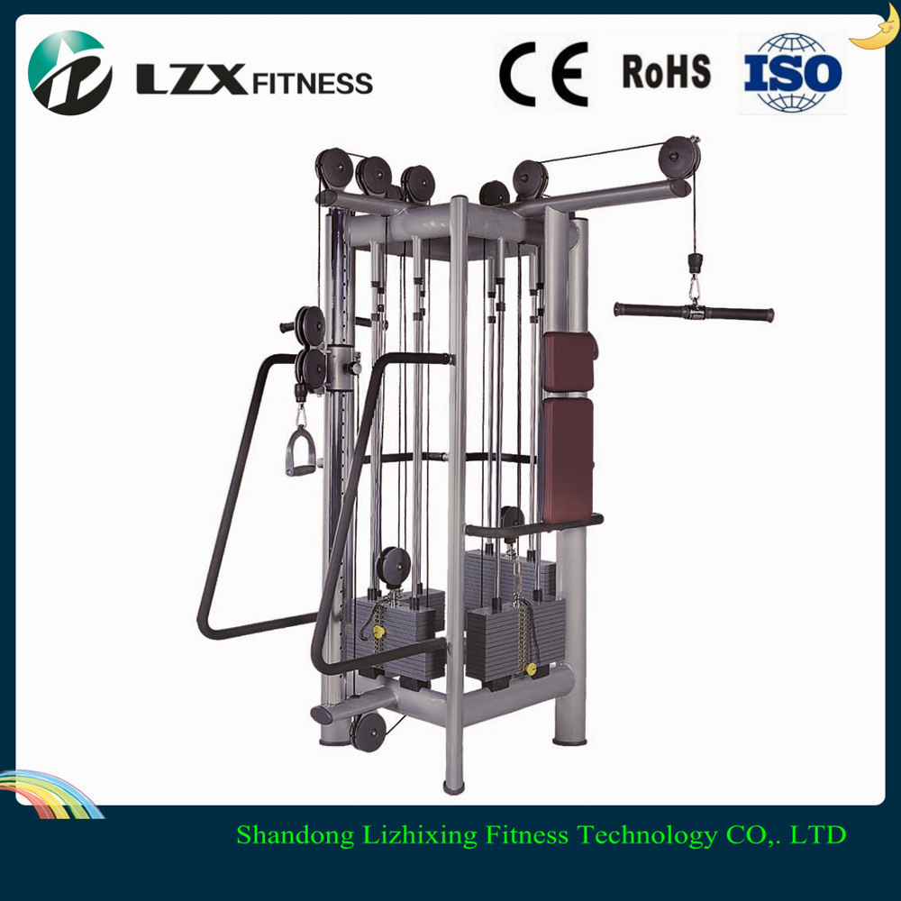 Plate Loaded Equipment LZX-6001 Chest press For Commercial Fitness Equipment
