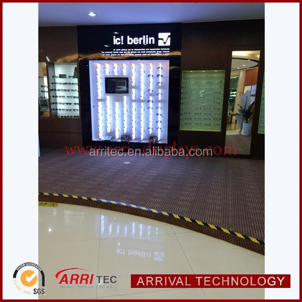 sunglasses retail store with LED light Modern optical store design