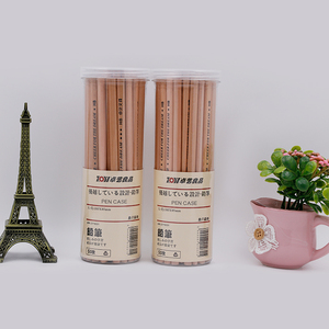 Set Packaging and hexagonal Promotional Pencil Use natural pencil