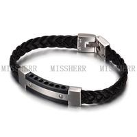 Men's china hand woven bracelets used jewellery tools NSB701
