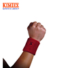 OEM Promotional Terry Cotton Sports Wristband with customer logo