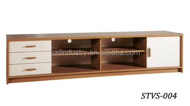 Modern living room wood lcd tv stand designs buy tv for Table tv design