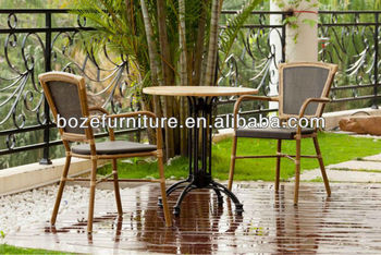 Oriental Outdoor Furniture Bamboo Patio