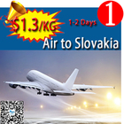 china cheapest air freight to Slovakia shipping rates very cheap by air from china skype:candyasb