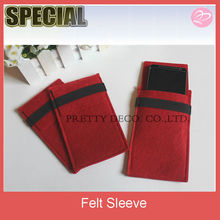 Felt phone case card holder,wholesale cell phone case