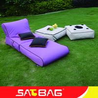 Waterproof outdoor beach bean bag folding beanbag chair