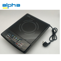 220v cheap portable glass ceramic induction cooktop