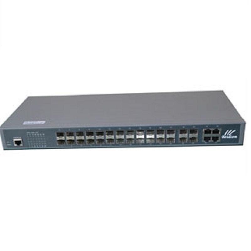 24ports Opitcal Fiber Gigabit Ethernet Network SFP Switch