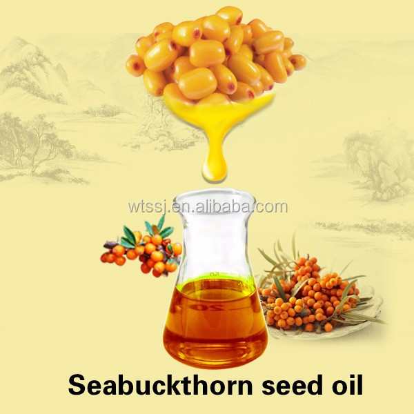 Seabuckthorn Seed Oil Supplier natural Hippophae Oil In Bulk organic seabuckthorn For Sale Personal Care Product