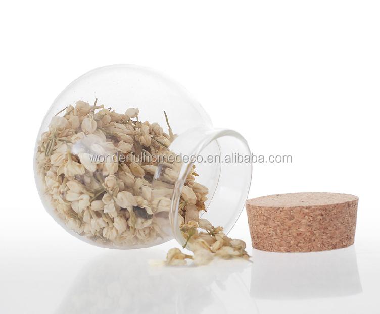 round glass jar with cork liddecorative glass jars and lids - Decorative Glass Jars