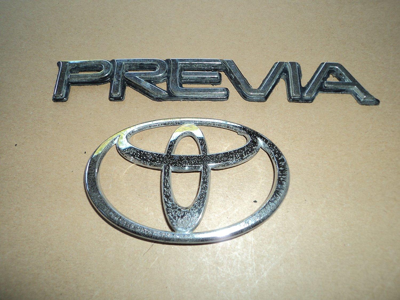 Buy 91 96 Toyota Previa Rear Trunk Chrome Logo Abs 7984 Used Emblem