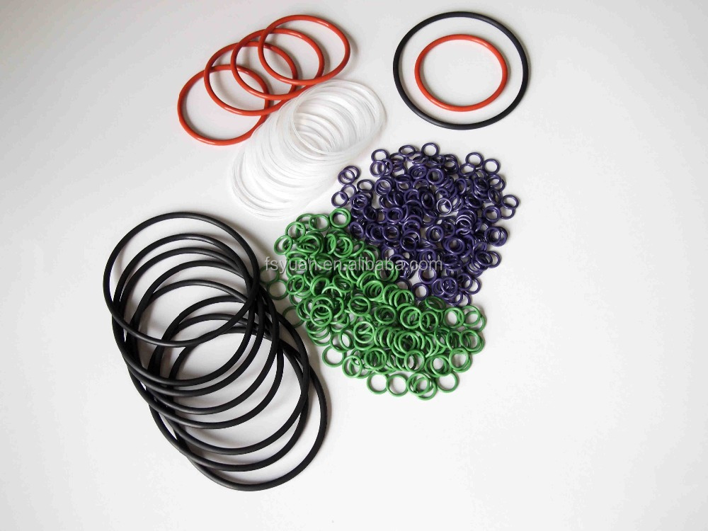 Smiley Piercing Rings 5mm Small Rubber O Ring Rubber O-ring Seals ...