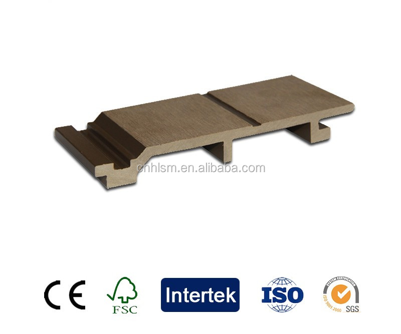 Very durable wall siding wpc house decking board