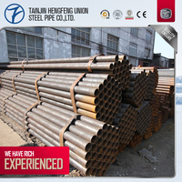 Steel Pipe Sizes Api 5L Gr. B Erw Carbon Steel Pipe