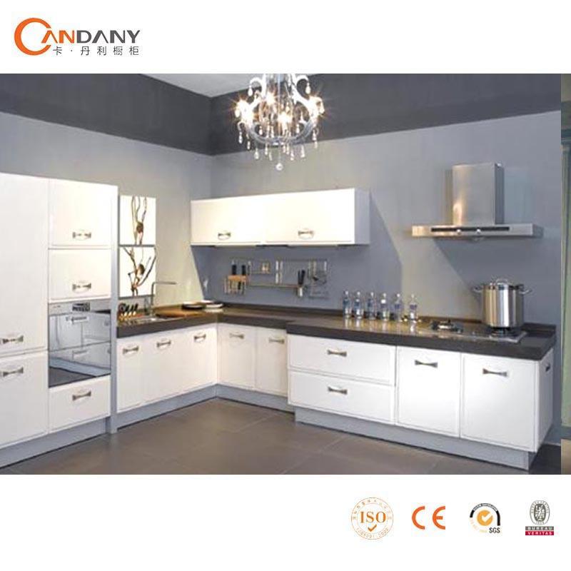 Bonne qualit d 39 armoires de cuisine avec acrylique panneau de porte blanc armoires de cuisine - Cuisine de bonne qualite ...