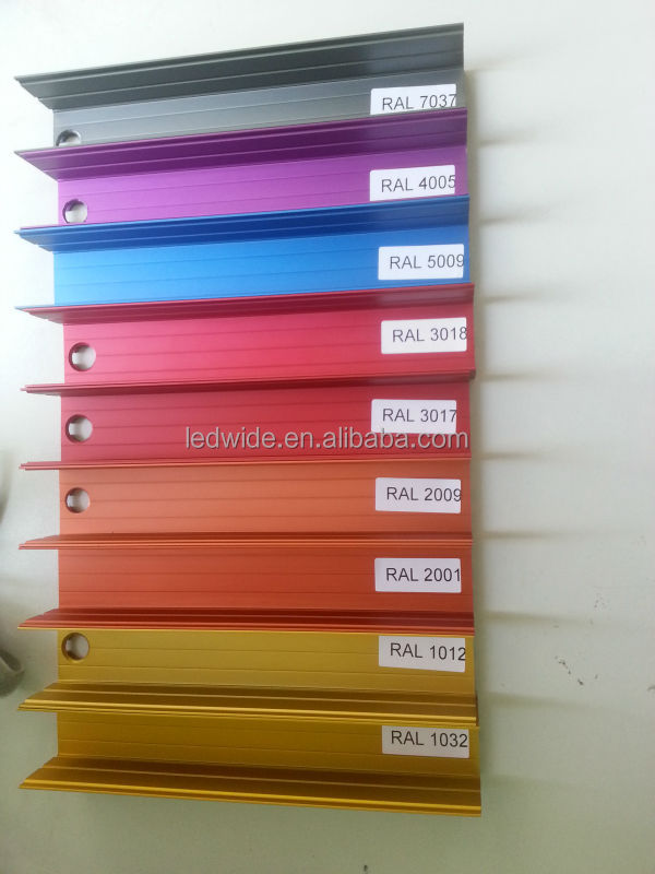 Linear Led Ceiling Aluminium Extrusion Profile With Plate ...