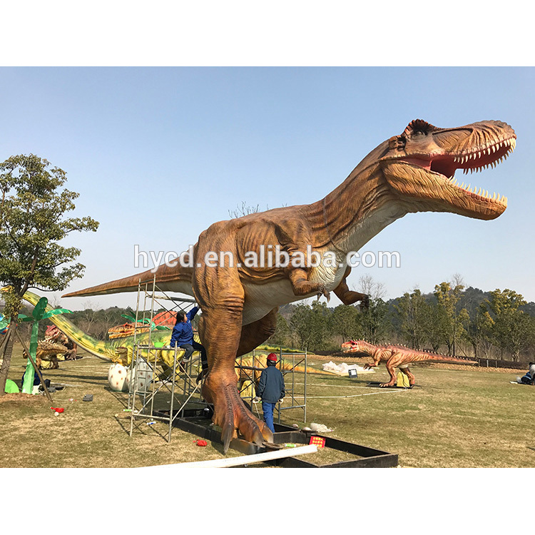 Fast delivery china factory carnival displayed moving dinosaur