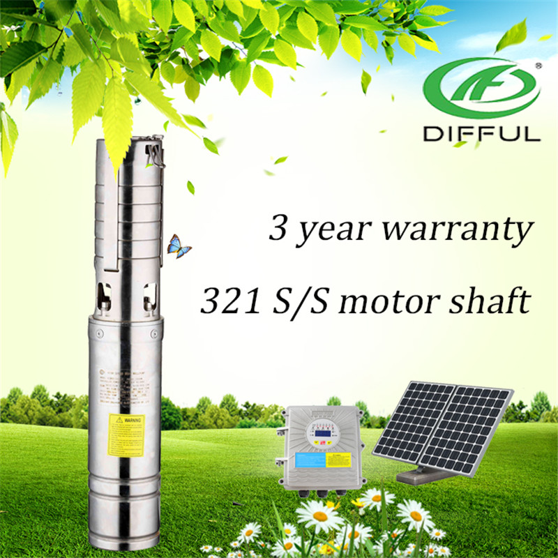 Dc permanent magnet brushless synchronous motor solar water pump