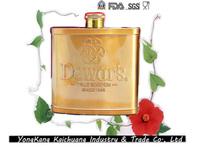 New type FDA 5oz stainless steel chivas wholesale chivas whisky novel dewar hip flasks for for alcohol