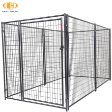 Hot sale hot dip galvanized cheap steel bar dog run kennel