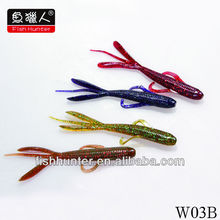 soft plastic fishing lures grubs /custom soft baits