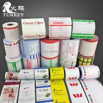 Custom Printed Paper Rolls Thermal 80mm Cash Register Paper 3 1/8 ...