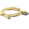 Micro USB Cable/1Meter/Golden