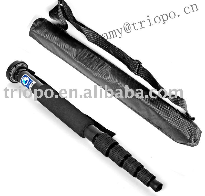Telescopic monopod stand with heavy duty for all kinds of camera
