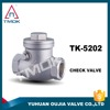 Sanitary Check Valve Stainless Steel SS 304 Water Double Plate Check Valve to German Standard