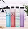 cute colorful high quality food grade fancy water glass bottle for liquor