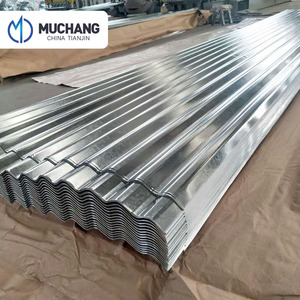 18 22 24 26 28 gauge Galvanized corrugated sheet for metal roofing and siding