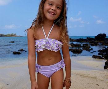 Costumi Da Bagno Per Bambini : Europeo di design bambini bambini bikini per il piccolo bambino