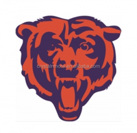 Chicago Bears plastisol heat transfers