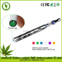 Greentime free blu e cigarette quit smoking device for cbd oil